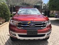 Bán Ford Everest Titanium năm 2018, màu đỏ, nhập khẩu Thái Lan
