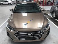 Cần bán xe Hyundai Elantra 1.6 AT sản xuất 2016, màu nâu, giá 619tr
