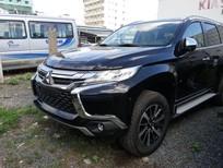 Bán xe Mitsubishi Pajero Sport D 4x2 AT 2018, màu đen, nhập khẩu, có bán trả góp, liên hệ 0906.884.030
