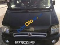 Bán Suzuki Wagon R năm sản xuất 2004, màu đen, nhập khẩu, giá 100tr