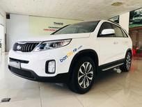 Bán ô tô Kia Sorento 2.4L GAT sản xuất năm 2018, màu trắng, giá tốt