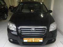 Bán Daewoo Gentra sản xuất 2009, màu đen