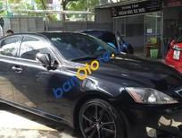 Cần bán lại xe Lexus IS 250 năm 2007, màu đen, giá 656tr