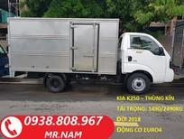 Bán xe tải Thaco Kia K200 chính hãng, tải trọng 1 tấn, 1,9 tấn, xe mới 100%, hỗ trợ vay trả góp. LH 0938808967