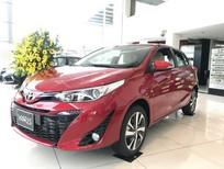 Bán xe Toyota Yaris 2019 trả góp 65 triệu, xe nhập khẩu. LH: 012476.55555