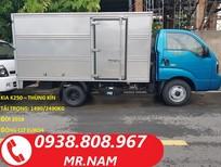 Bán xe tải 2 tấn 4 Kia Thaco K250 chính hãng, hỗ trợ vay trả góp. LH 0938808967 Mr. Nam