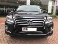 Bán Lexus LX570 Xuất Mỹ màu đen, nội thất kem, xe nhập mới về Việt Nam sản xuất 2014, ĐK 2015 tên cty