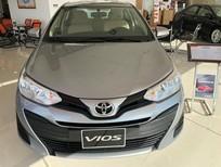 Bán Toyota Vios 1.5E CVT 2018, màu bạc, 569 triệu
