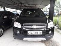 Bán ô tô Chevrolet Captiva LT 2008, màu đen