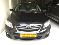 Cần bán lại xe Toyota Corolla altis G 2009, màu đen