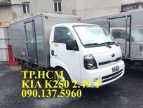 Bán Thaco Kia K250 sản xuất 2018, màu tím
