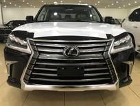 Giao ngay Lexus LX570 Mỹ 2018 màu đen và vàng cát