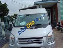 Cần bán Ford Transit MT năm 2014, màu bạc, xe nhập