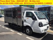 Cần bán xe tải Kia K250 tải trọng 2t5 vào thành phố