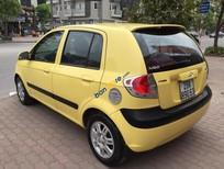 Cần bán Hyundai Getz 1.1AT đời 2008, màu vàng, nhập khẩu nguyên chiếc