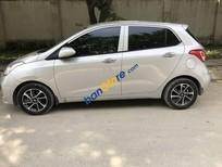 Bán Hyundai Grand i10 sản xuất 2017, màu bạc, nhập khẩu nguyên chiếc chính chủ, giá tốt