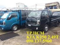 TP. HCM bán Thaco Kia K250 mới tải trọng 2.49 tấn, thùng mui bạt tôn lạnh