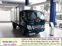 Bán xe tải Ollin 500B Trường Hải 5 tấn, thùng kín, Thùng mui bạc