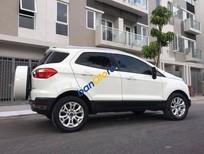 Bán Ford EcoSport Titanium sản xuất năm 2015, màu trắng, máy móc êm ru