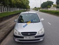 Bán xe Hyundai Getz đời 2009, màu bạc, nhập khẩu nguyên chiếc, giá 155triệu