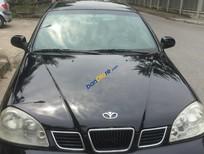 Cần bán xe Daewoo Lacetti đời 2004, màu đen