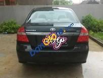 Cần bán xe Daewoo Gentra đời 2007, màu đen