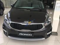 Bán ô tô Kia Rondo sản xuất 2018 màu đen, giá chỉ 609 triệu, Lh: 0966 199 109