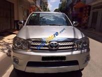 Bán Toyota Fortuner năm 2009, màu bạc giá cạnh tranh