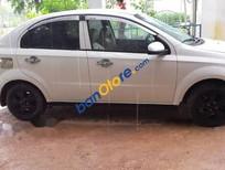 Cần bán lại xe Daewoo Gentra sản xuất năm 2009, màu trắng