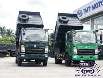Bán xe ben Howo 6T5, thùng 5 khối, hỗ trợ trả góp lãi suất thấp