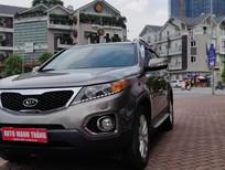 Bán xe Kia Sorento AT 2014, màu xám, nhập khẩu, giá tốt