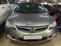 Cần bán Honda Civic 1.8 AT đời 2008, màu bạc