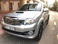 Cần bán gấp Toyota Fortuner 2.5G đời 2016, màu bạc số sàn