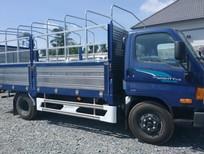 Cần bán xe Hyundai Mighty thùng bạt-7T 2018, màu xanh lam, giao ngay