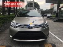 Bán ô tô Toyota Vios G năm sản xuất 2018, màu ghi vàng