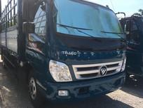 Cần bán xe Thaco OLLIN 700B mui bạt full option 2017, màu xanh dương