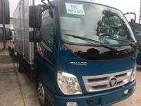 Bán Thaco OLLIN ollin 500 B thùng kín cửa hông 2017, màu xanh lam, giá cả cạnh tranh