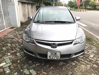 Cần bán lại xe Honda Civic 1.8 MT 2008, màu xám