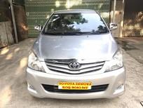 Cần bán gấp Toyota Innova G 2010, màu bạc, 450 triệu