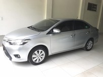 Cần bán lại xe Toyota Vios 1.5 E 2015, màu bạc