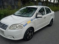 Bán Daewoo Gentra sản xuất năm 2007, màu trắng giá cạnh tranh