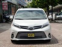 Bán xe Toyota Sienna sản xuất năm 2018, màu trắng, nhập khẩu nguyên chiếc