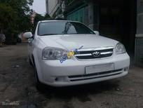 Bán ô tô Daewoo Lacetti đăng ký lần đầu 2010, màu trắng ít sử dụng, 225triệu