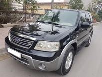 Bán xe Ford Escape 2007 màu đen, tên chính chủ biển Sài Gòn