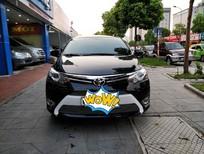 Cần bán lại xe Toyota Vios G 2017, màu đen, giá chỉ 555 triệu