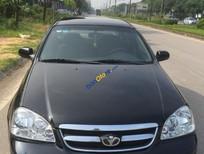 Cần bán lại xe Daewoo Lacetti MT sản xuất năm 2008, màu đen chính chủ