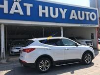 Bán Hyundai Santa Fe 2.4L 4x2 AT sản xuất 2015, màu trắng
