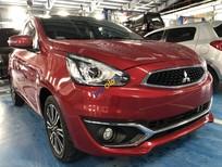 Bán ô tô Mitsubishi Mirage CVT sản xuất 2018, màu đỏ, xe nhập