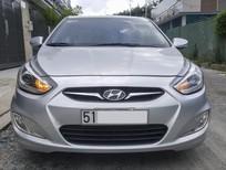 Bán ô tô Hyundai Accent AT năm 2014, màu bạc, nhập khẩu Hàn Quốc số tự động, 439tr
