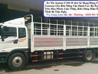 Bán xe tải Thaco Auman C160, tải trọng 9T3, thùng lửng, có xe giao ngay. Hỗ trợ trả góp